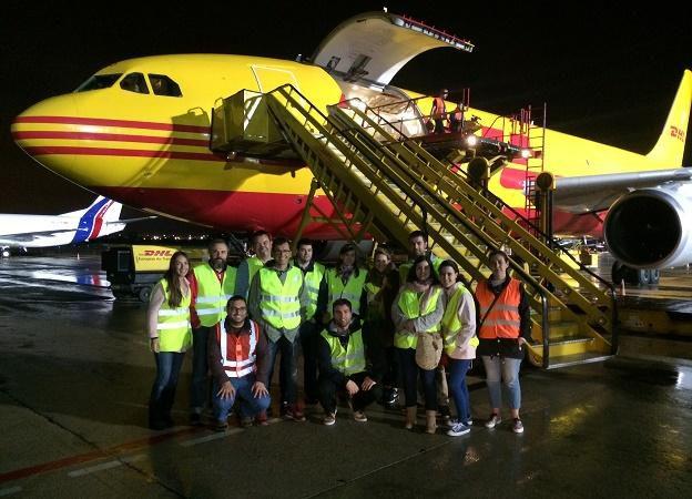 Visita a DHL Express en Foronda Master Logistica integral IVL