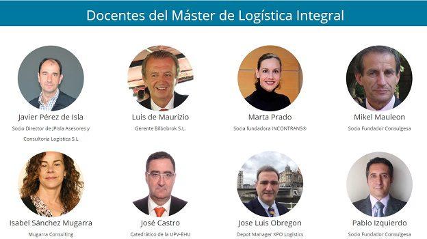 docentes master logistica integral